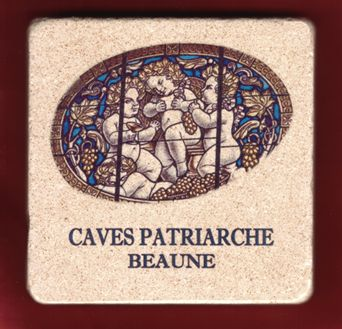 Stone coaster from france worlds largest selection of for La fenetre chardonnay